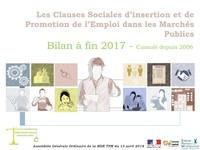 Bilan 2017 des Clauses d'Insertion