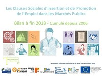 Bilan 2018 des Clauses d'Insertion