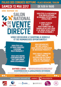 1ère édition du Salon National de la Vente Directe