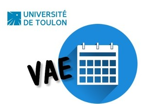 Dates de réunion VAE - Université de Toulon