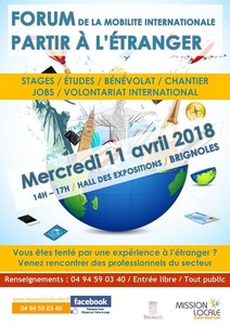 "Forum de la mobilité internationale : ""partir à l'étranger"""