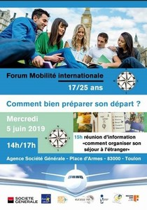 Forum Mobilité Internationale - 17/25 ans