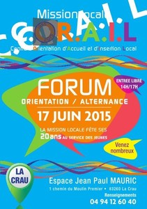 Forum orientation / alternance 17 juin 2015