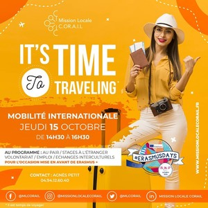 It's TIME to TRAVELING - Mobilité internationale