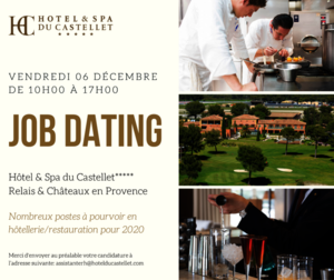 JOB DATING  Hôtel & Spa du Castellet***** 2019
