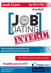 job dating interim