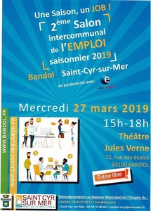 Salon intercommunal de l'EMPLOI saisonnier 2019